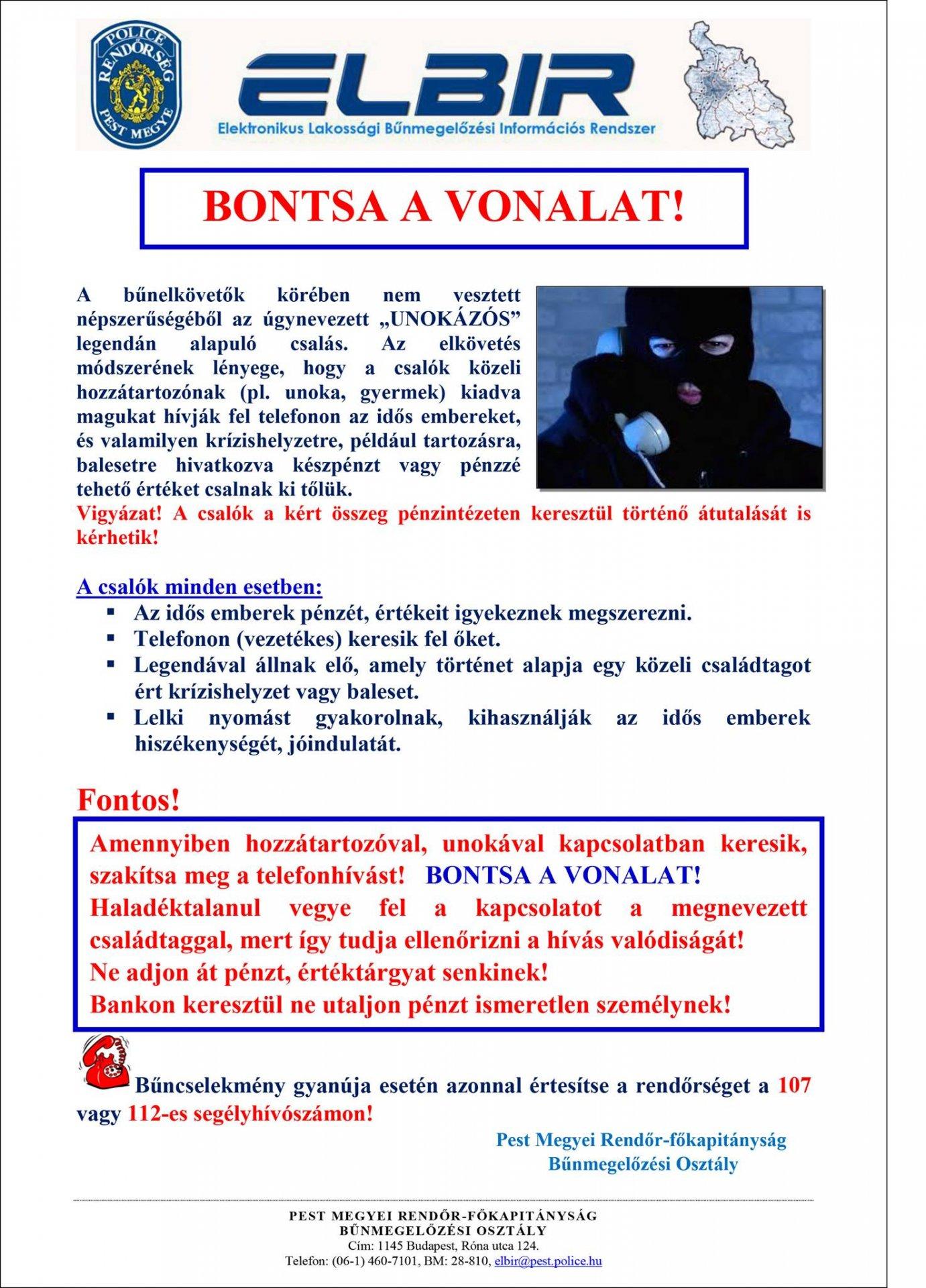 """Unokázós"""" csalás - Szentendrei Médiaközpont"""